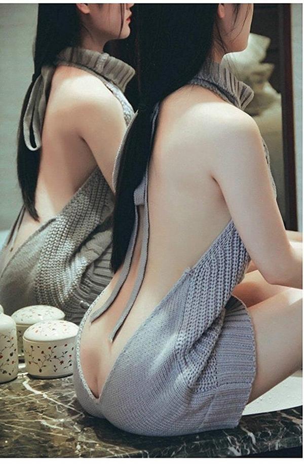 童貞を殺すセーターにハマる自撮り女子画像75枚のb011番
