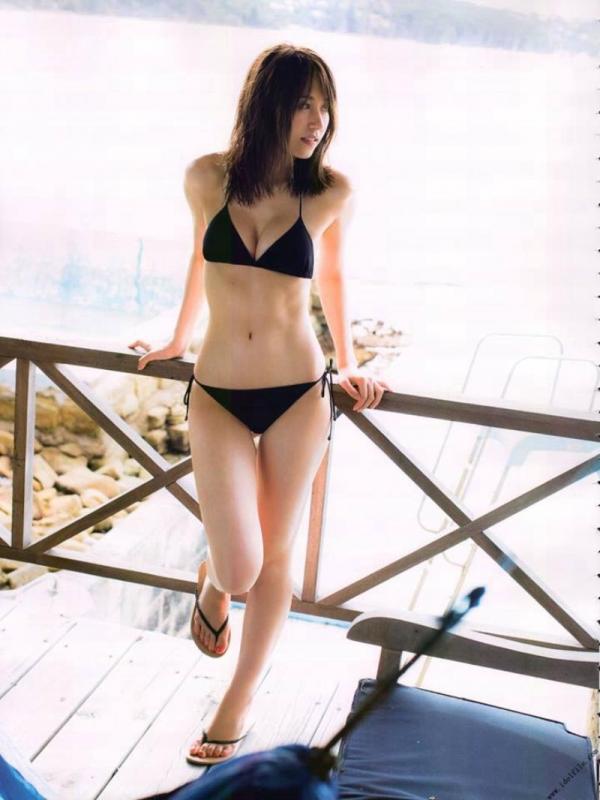 乃木坂46 衛藤美彩 デカパイ水着セミヌード画像60枚の55番