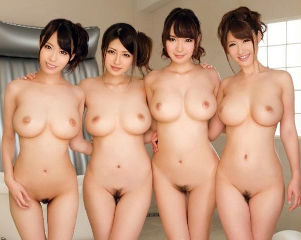 複数ヌード画像 こんな裸の美女達に囲まれたい50枚の08枚目