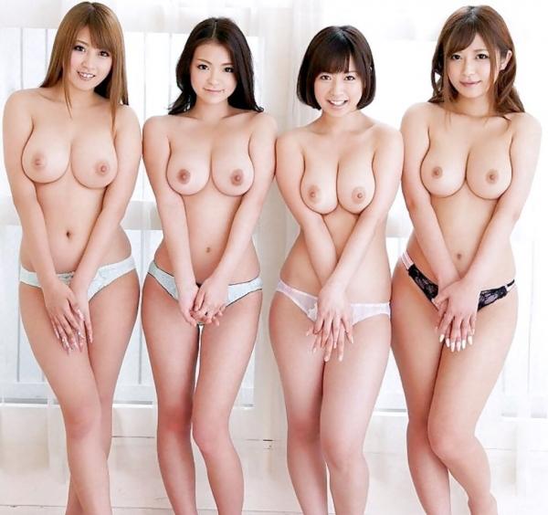 複数ヌード画像 こんな裸の美女達に囲まれたい50枚の16枚目