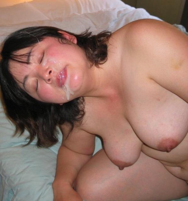 激ぽちゃ熟女 ブクブク太った重量級デブ女のエロ画像40枚の014枚目