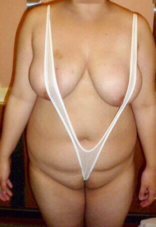 激ぽちゃ熟女 ブクブク太った重量級デブ女のエロ画像40枚の015枚目