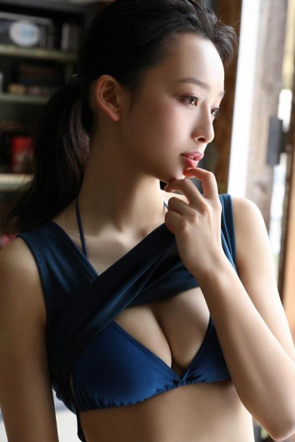 華村あすか 麗しの水着画像 10代の曲線美100枚の013枚目