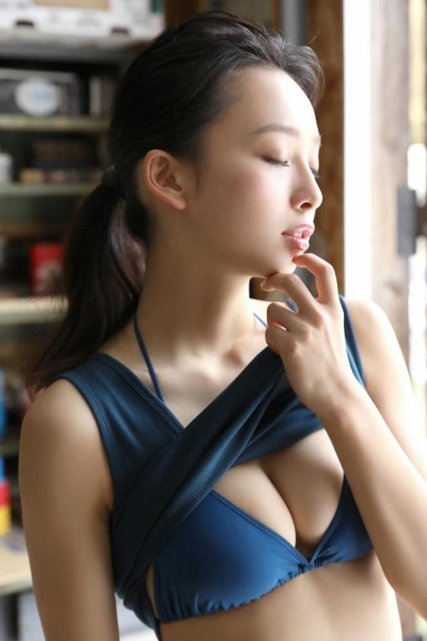 華村あすか 麗しの水着画像 10代の曲線美100枚の014枚目