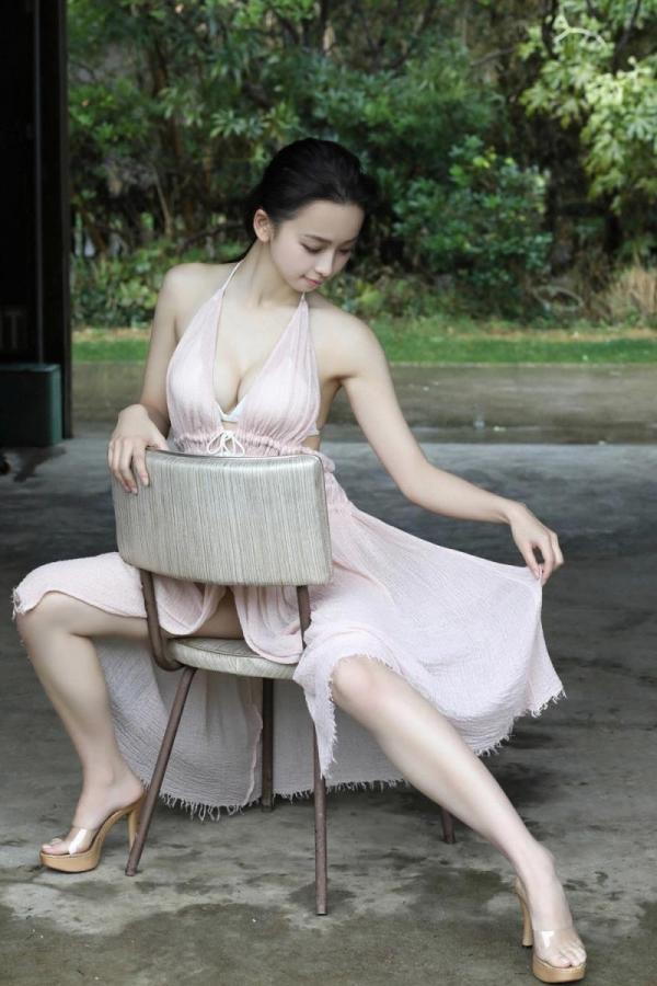 華村あすか 麗しの水着画像 10代の曲線美100枚の044枚目