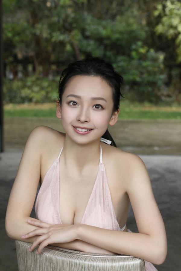 華村あすか 麗しの水着画像 10代の曲線美100枚の045枚目