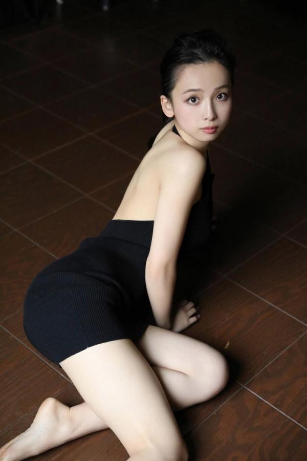 華村あすか 麗しの水着画像 10代の曲線美100枚の058枚目
