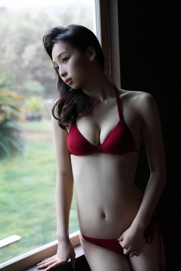 華村あすか 麗しの水着画像 10代の曲線美100枚の083枚目