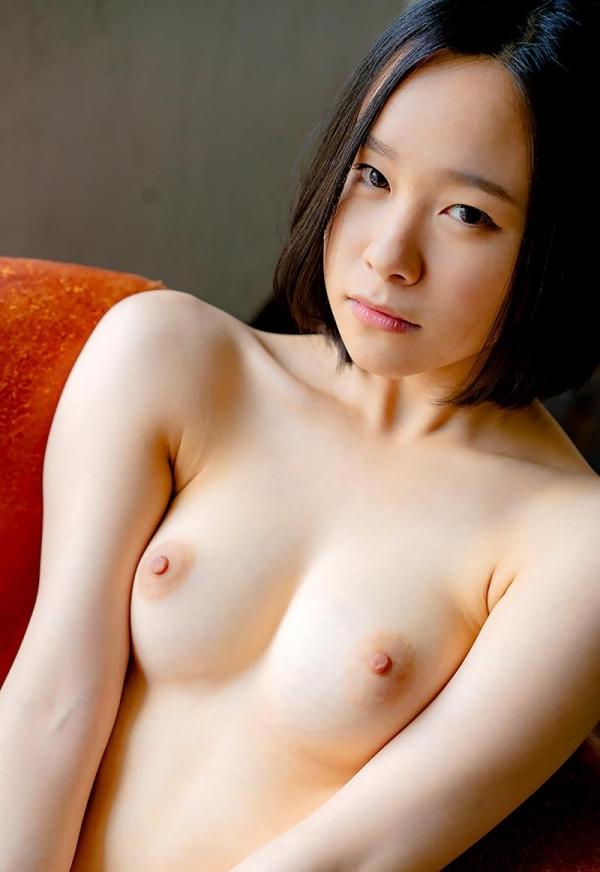 初乃ふみか 極細スリム美巨乳な美少女ヌード画像110枚の024枚目