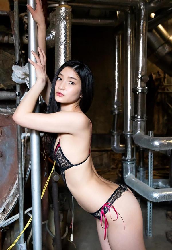 本庄鈴 SODstar スレンダー美女ヌード画像150枚のb089枚目