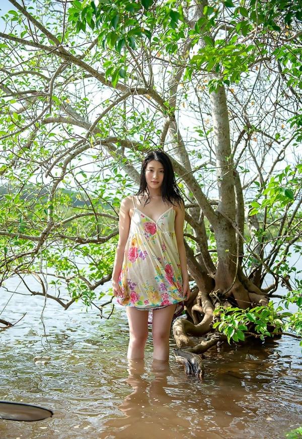 本庄鈴 清楚な顔立ちの色白美女ヌード画像165枚の116枚目