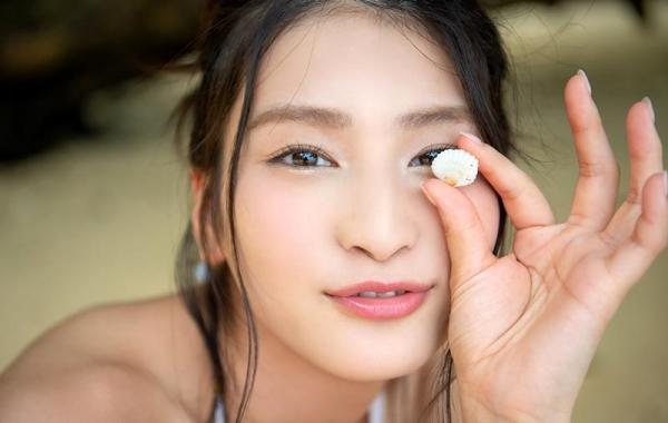 本庄鈴 清楚な顔立ちの色白美女ヌード画像165枚の157枚目