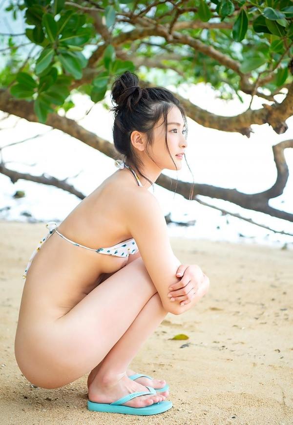 本庄鈴 清楚な顔立ちの色白美女ヌード画像165枚の165枚目