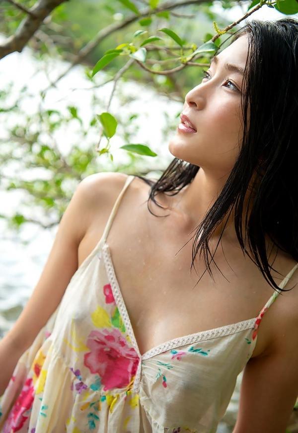 本庄鈴 清楚なスレンダー美人ヌード画像170枚のb116枚目