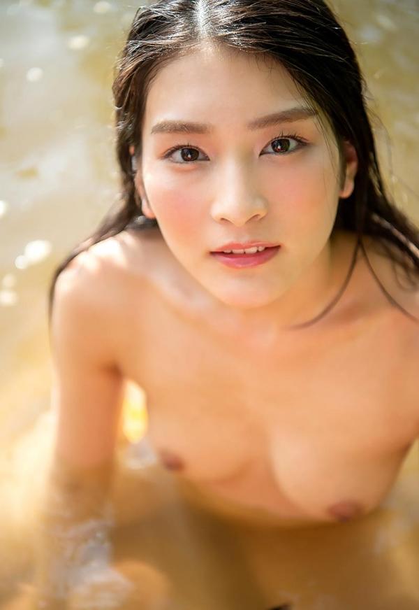 本庄鈴 清楚なスレンダー美人ヌード画像170枚のb132枚目