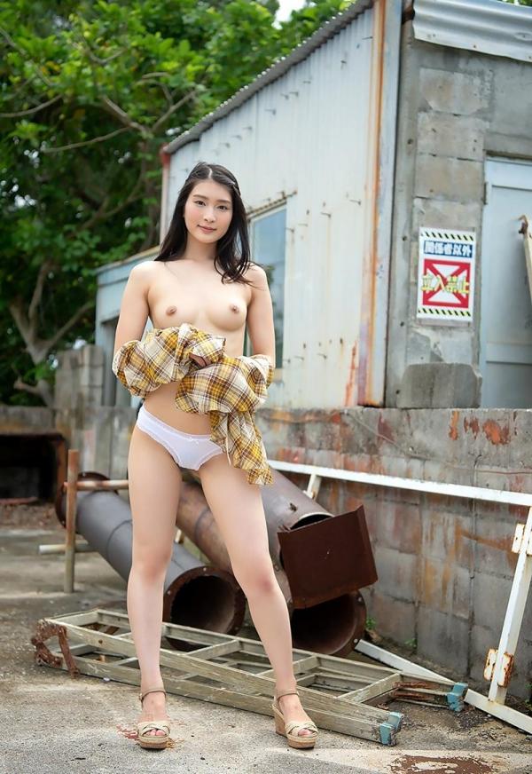 本庄鈴 清楚なスレンダー美人ヌード画像170枚のb140枚目