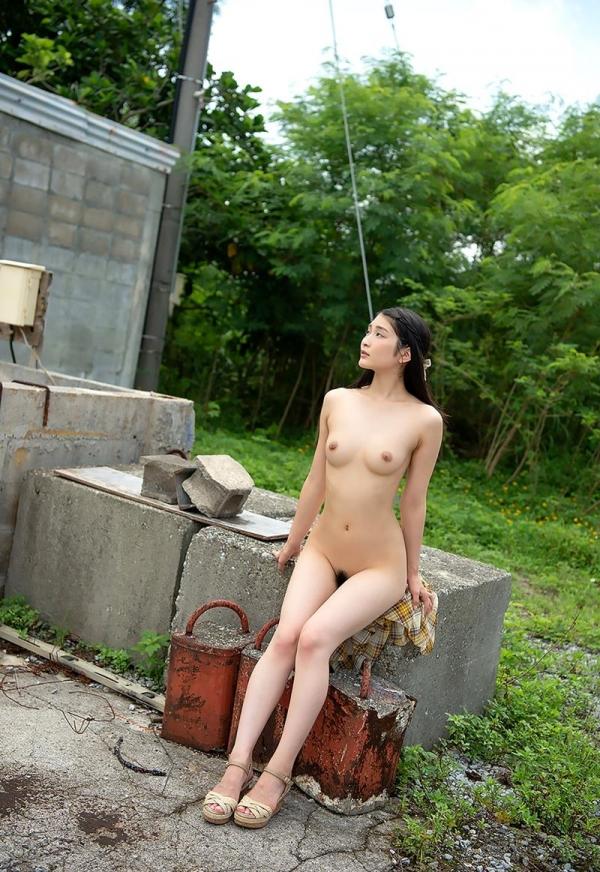 本庄鈴 清楚なスレンダー美人ヌード画像170枚のb149枚目