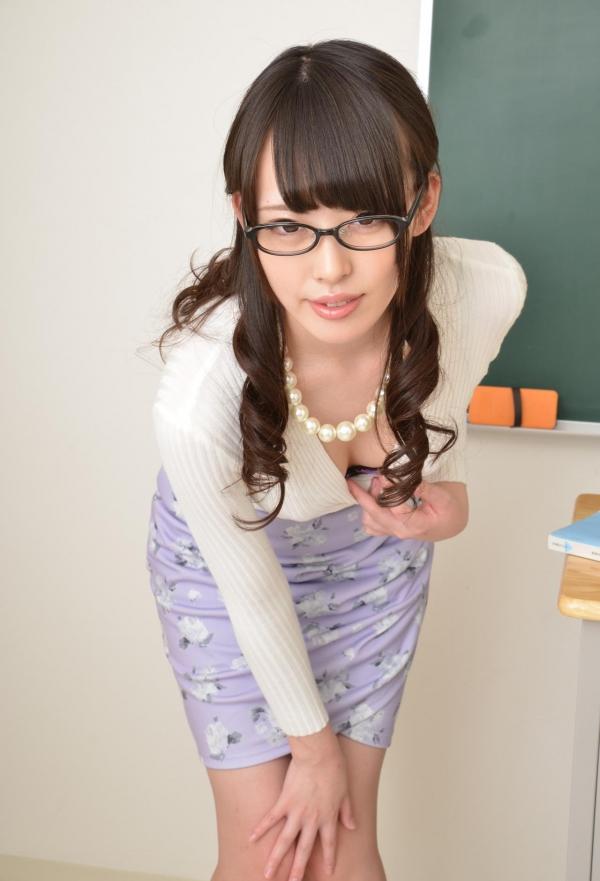 女教師エロ画像 美人先生が教室でHな誘惑90枚の011枚目