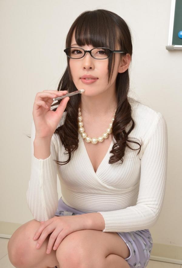 女教師エロ画像 美人先生が教室でHな誘惑90枚の018枚目