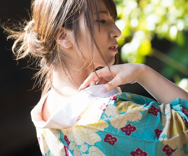襦袢のエロ画像 妖艶な遊女の様なヌード101枚