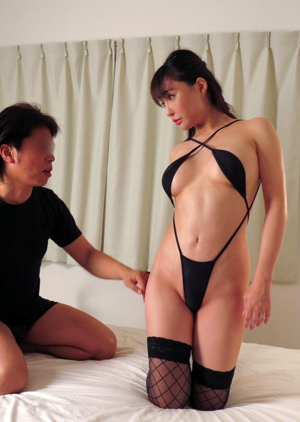 熟女エロ画像 四十路の巨乳妻のセックス春花No2の049枚目
