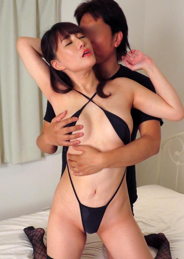 熟女エロ画像 四十路の巨乳妻のセックス春花No2の057枚目