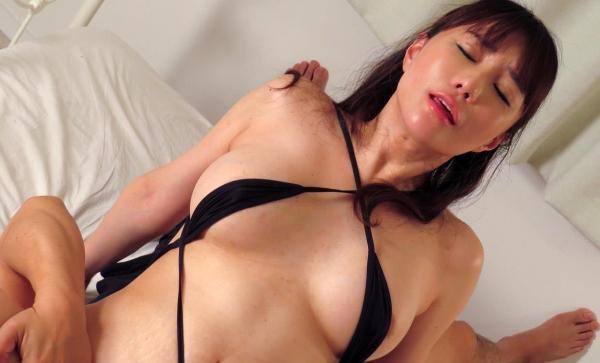 熟女エロ画像 四十路の巨乳妻のセックス春花No2の074枚目