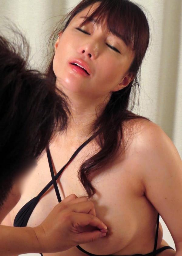 熟女エロ画像 四十路の巨乳妻のセックス春花No2の079枚目
