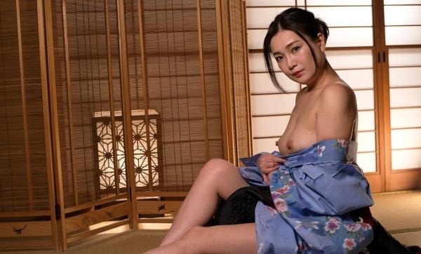 熟女セックス画像 浴衣の妖艶な四十路妻美麗の18枚目