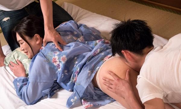 熟女セックス画像 浴衣の妖艶な四十路妻美麗の39枚目