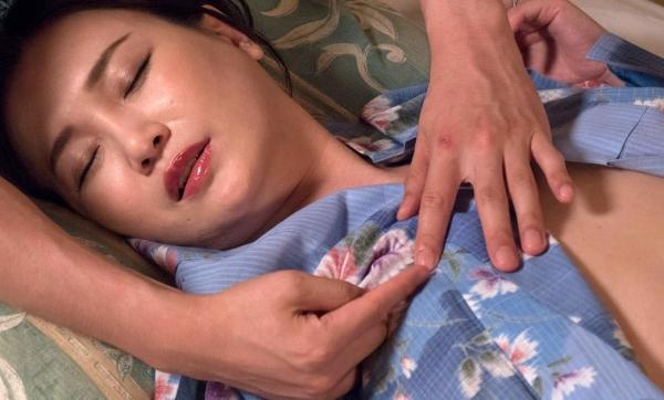 熟女セックス画像 浴衣の妖艶な四十路妻美麗の49枚目