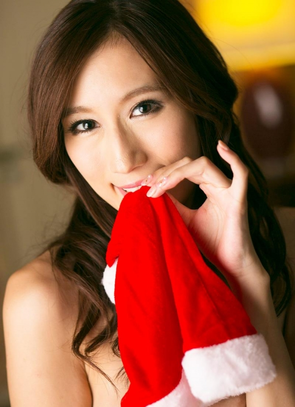 爆乳サンタが裸でメリークリスマス!JULIAエロ画像40枚の011枚目