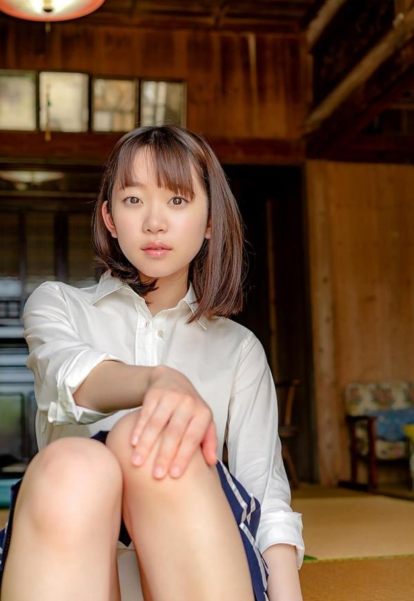 あどけない雰囲気のスレンダー美少女 架乃ゆらエロ画像54枚のb03枚目
