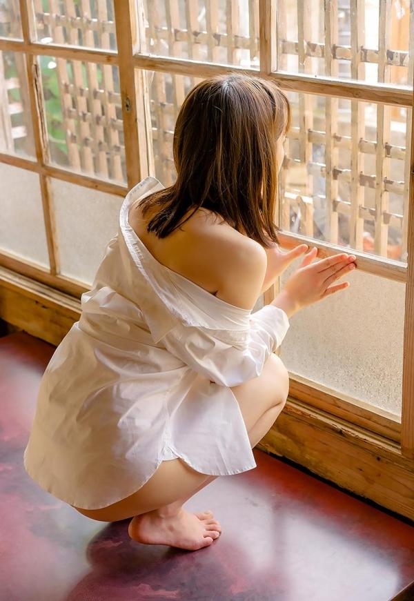 あどけない雰囲気のスレンダー美少女 架乃ゆらエロ画像54枚のb15枚目