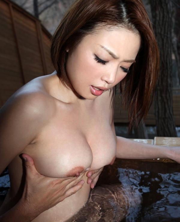 懐かしのエロス かすみりさ ショートヘアの美巨乳美女セックス画像76枚のa023枚目