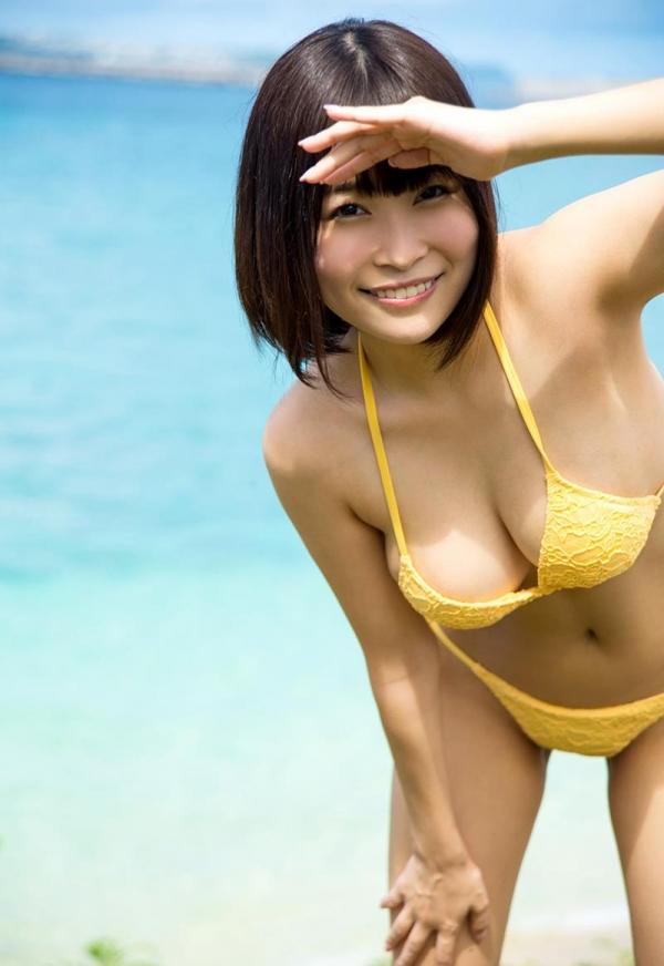 河合あすな スレンダー爆乳美女ヌード画像140枚の005枚目