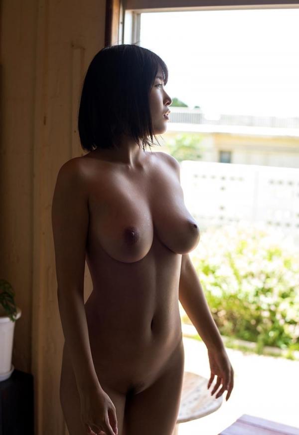 河合あすな スレンダー爆乳美女ヌード画像140枚の067枚目