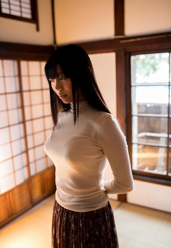 桐谷まつり 巨乳の秋田美人ヌード画像143枚のb013番