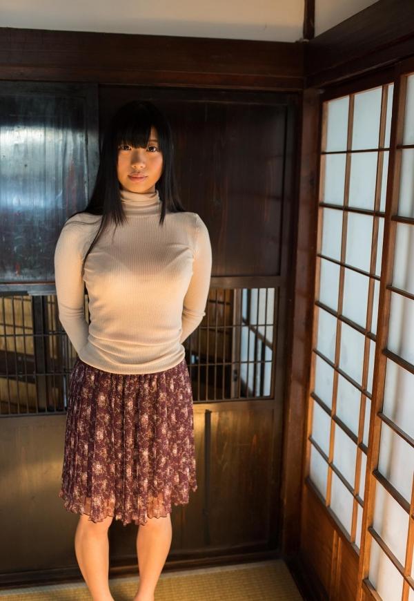 桐谷まつり 巨乳の秋田美人ヌード画像143枚のb014番