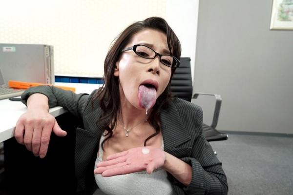 北島玲 妖艶な美痴女 好色女上司の淫らな誘惑エロ画像45枚のa008枚目