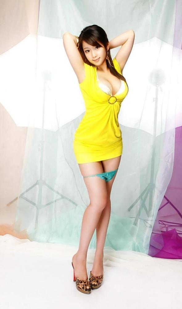 不自然に美しい韓国人モデル!外国人ヌード画像40枚の05枚目
