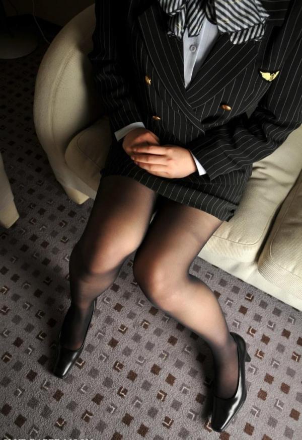 セクシーな黒パンストを穿いたOLのエロ画像60枚の51枚目