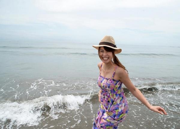 夏だ水着だ!海で泳いだ後の濃密セックス!眞木あずさ(まきあずさ)画像110枚の009枚目