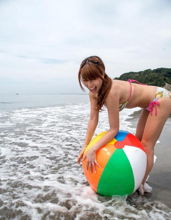 夏だ水着だ!海で泳いだ後の濃密セックス!眞木あずさ(まきあずさ)画像110枚の016枚目