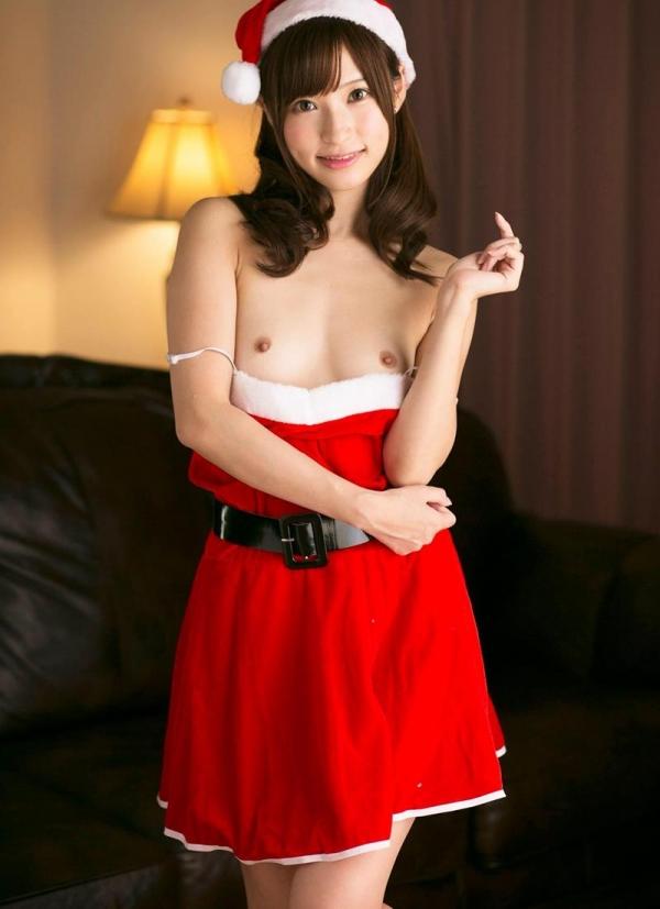 微乳サンタ 天使もえ 戸田真琴 が全裸でメリークリスマス!エロ画像35枚のa007枚目