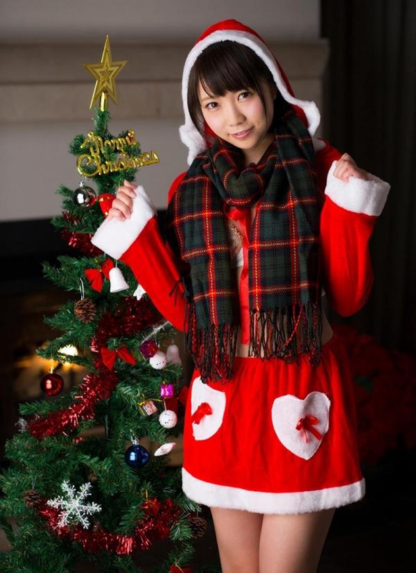 微乳サンタ 天使もえ 戸田真琴 が全裸でメリークリスマス!エロ画像35枚のb001枚目
