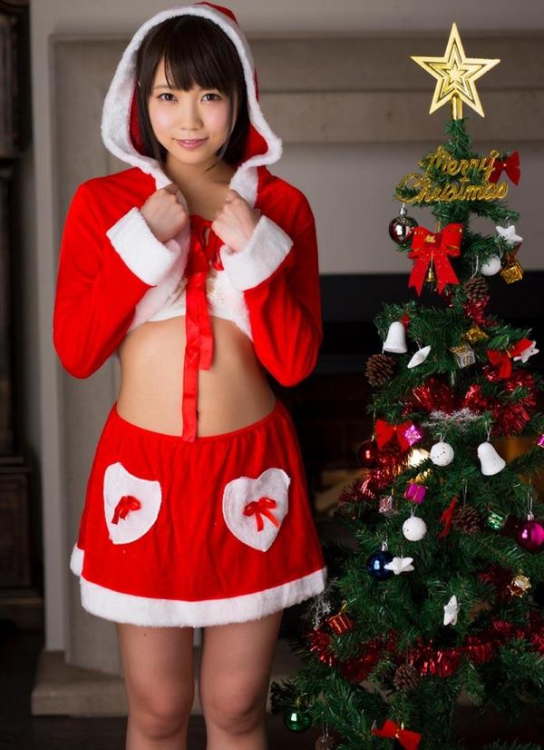 微乳サンタ 天使もえ 戸田真琴 が全裸でメリークリスマス!エロ画像35枚のb002枚目