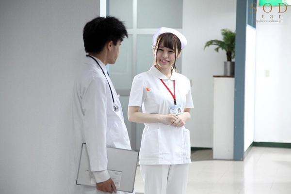 巨乳看護師 みながわ千遥 SODstar エロ画像50枚のb02枚目