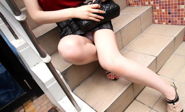 モデル体型の美脚ショップ店員みずきエロ画像90枚の013枚目