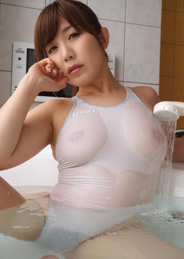美泉咲 肉感ボディのスケスケ水着ヌード画像40枚の010枚目